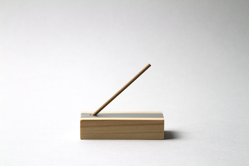Hinoki Incense with Holder