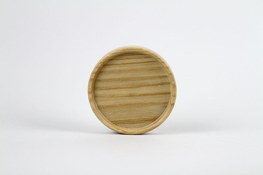 Wooden Lid for Sugar, Cream, or Coffee Cup by Hasami Porcelain - Hasami Porcelain