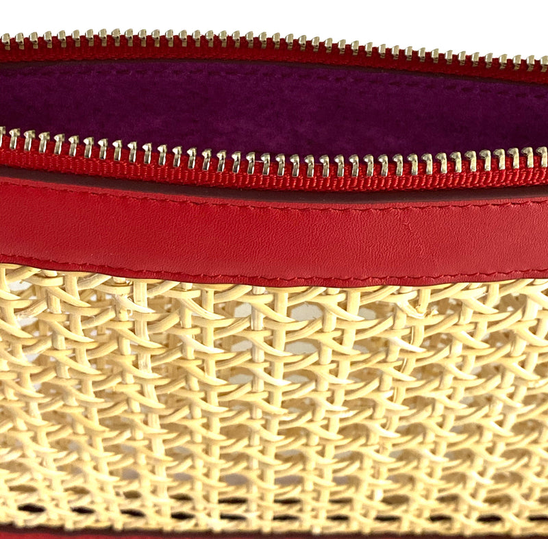 Francesca Clutch Red