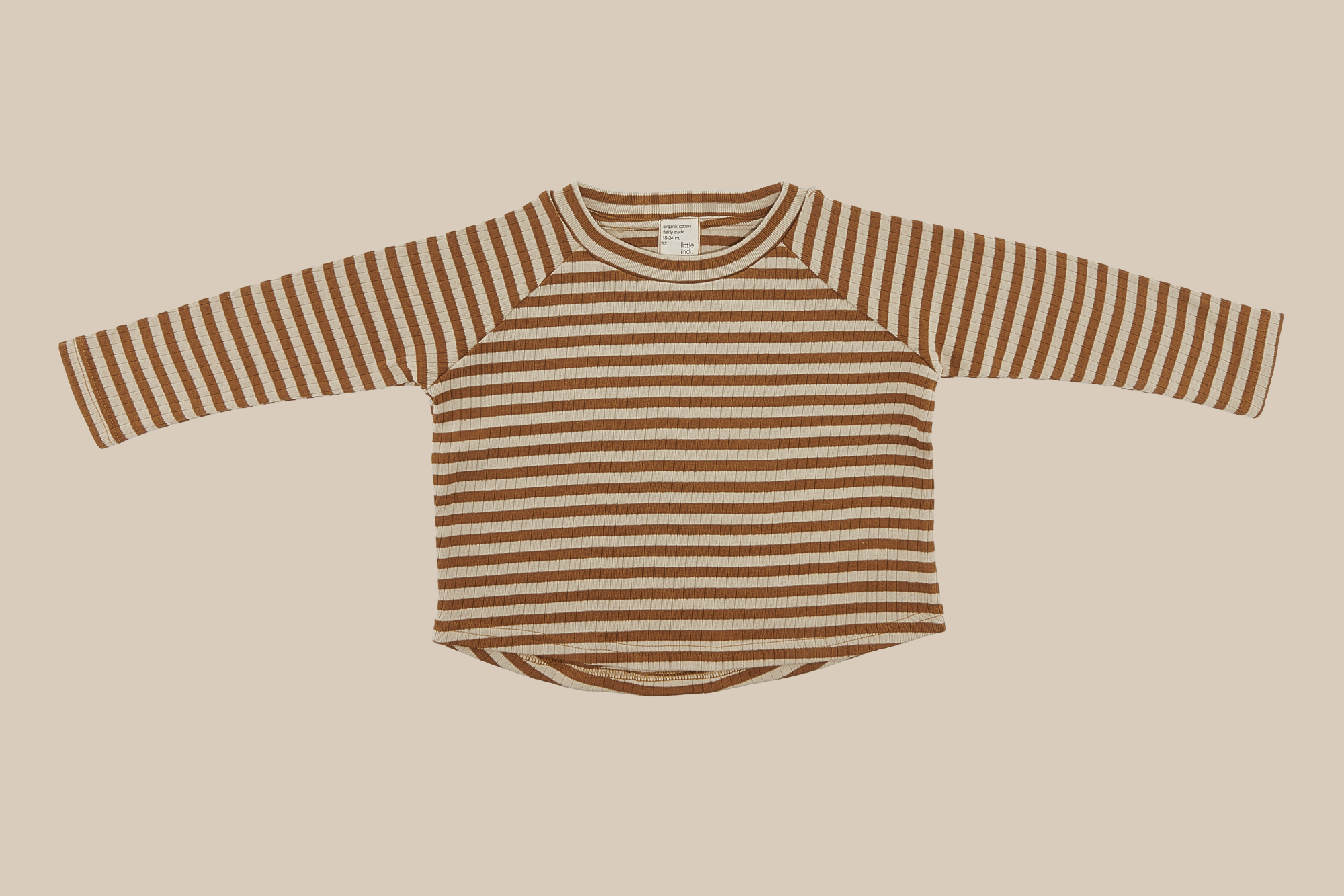 striped leaf shirt