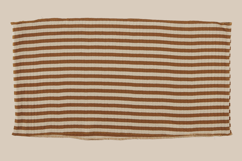 striped leaf scarf