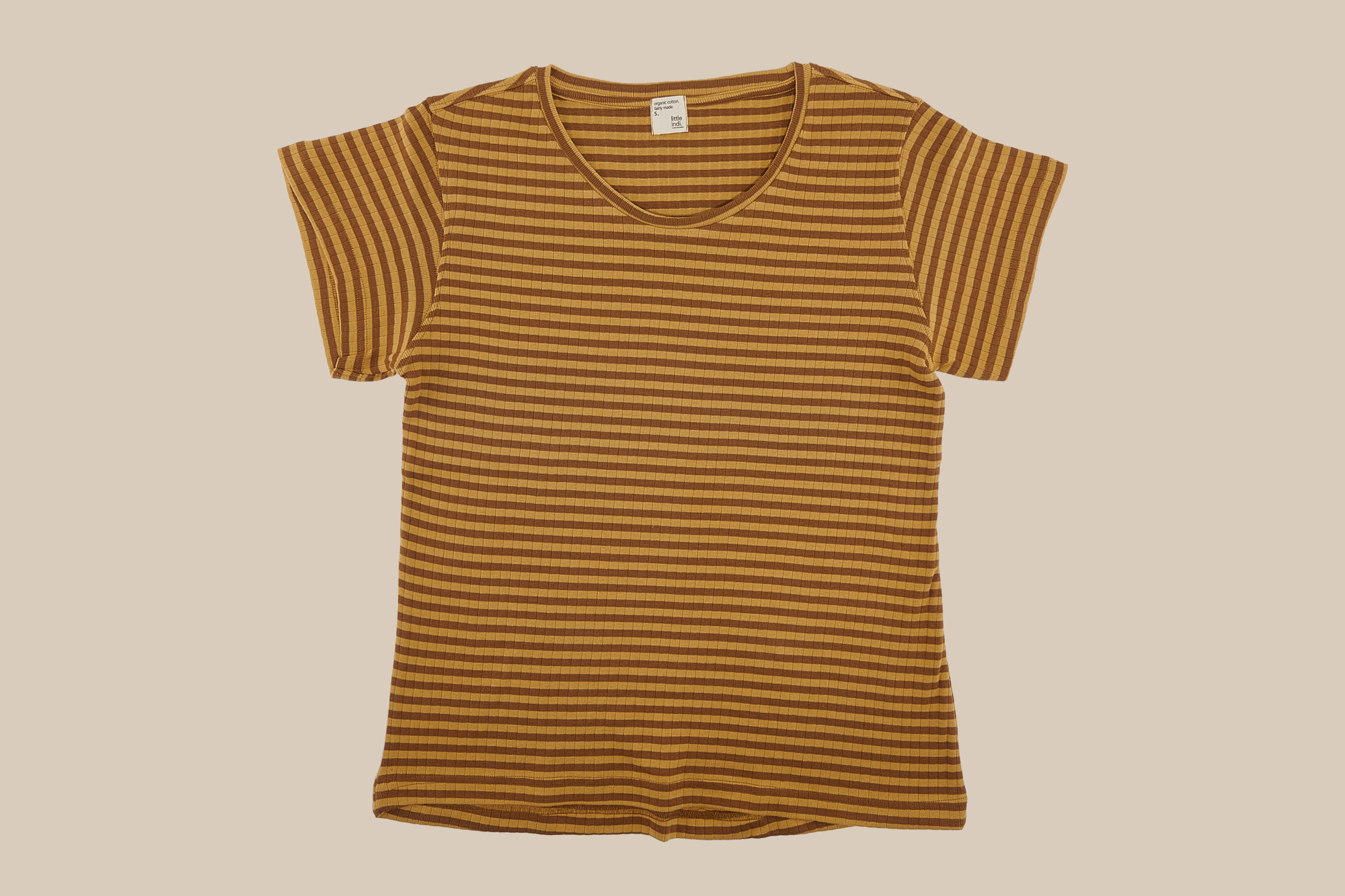 striped earth t-shirt adult