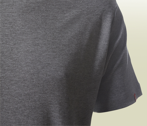 Plain T-Shirt With Kverneland Logo - Grey Mélange