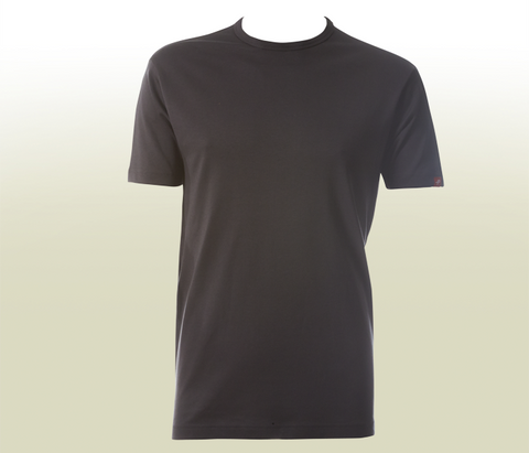 Plain T-Shirt With Kverneland Logo - Dark Grey