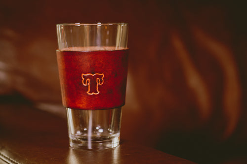16 oz Pint Glass with Initials