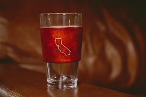 16 oz Pint Glass with States
