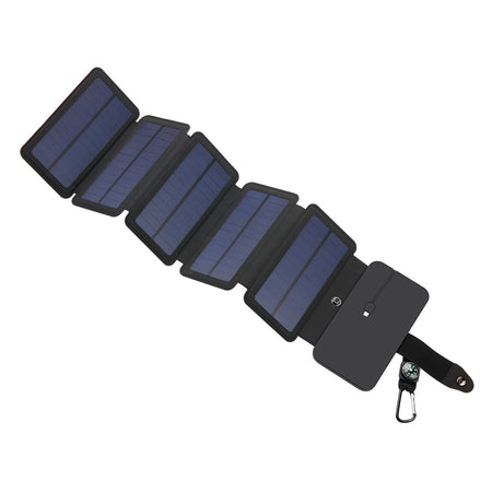 Minismile Portable Solar Charging Panel Removable Folding Charger for Phone