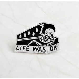 Coffin Casket Pins