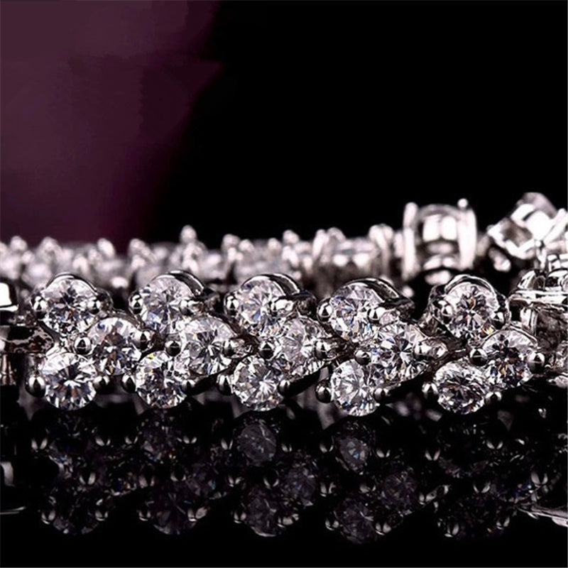 Fashion Diamond Crystal Luxury Ladies Bracelet