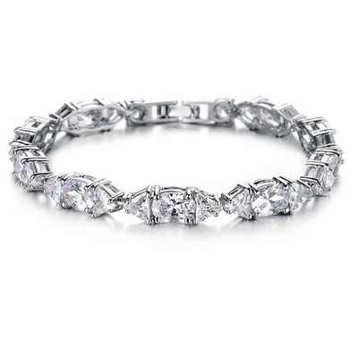 Crystal Tennis Bracelet (Ships from USA)