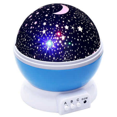 BRELOBG BL - 001 DC 5V Star Light Rotating Projector  Lamp for Kids Bedroom