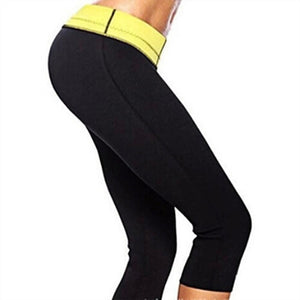 Active Elastic Waist Skinny Women's Capri Leggings
