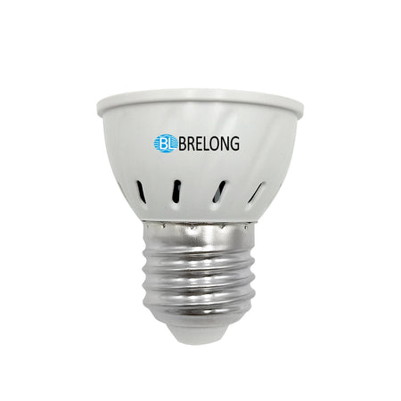 BRELONG E27 E14 GU10 MR16 72LED 2835 Plant Growth Light AC 110-130V 1PC