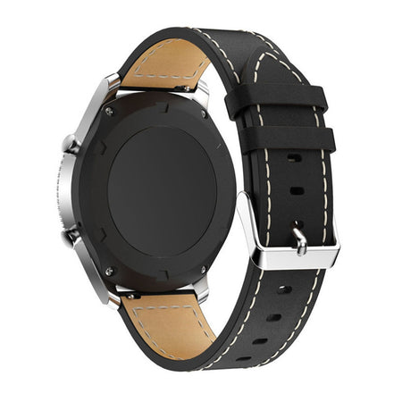 Genuine Leather Watch Bracelet Strap Band for Samsung Gear S3 Frontier