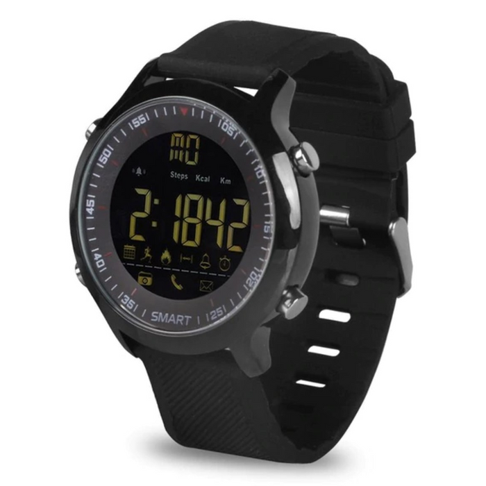 5 ATM Waterproof Smart Watch With Fitness Tracking