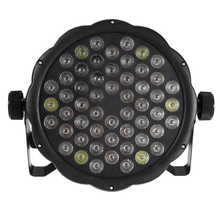 AC 110 - 220V 54 x 1W LED Stage Light RGBW DMX512 Party Lamp
