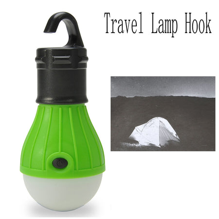 Camping Tent Lamp Light with Hanging Hook / 3 Modes / 500lm