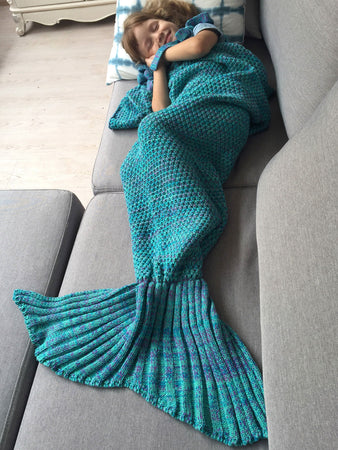 Winter Sleeping Bag Bed Throw Wrap Mermaid Blanket