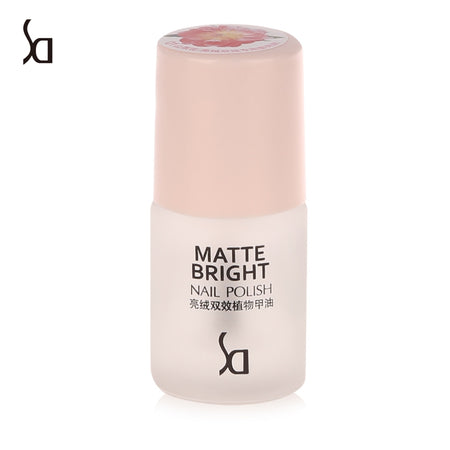 SD Long Lasting Matte Satin Bright Double Effect Healthy Plant Nail Polish Makeup Tools