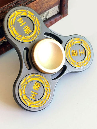 King Finger Gyro Hollow Out Stress Relief Toy Fidget Spinner