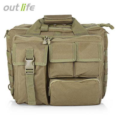 Outlife Outdoor Computer Briefcase Messenger Bag Handbag