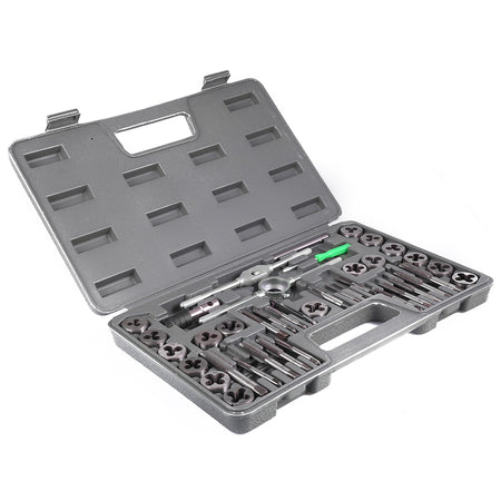 40pcs Adjustable Metric Tap Die Wrench Tool with Plastic Case