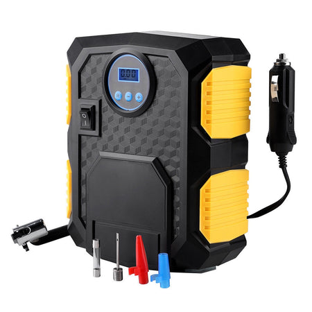 12V Digital Air Compressor Car Automatic Tyre Inflator Electric Portable Pump