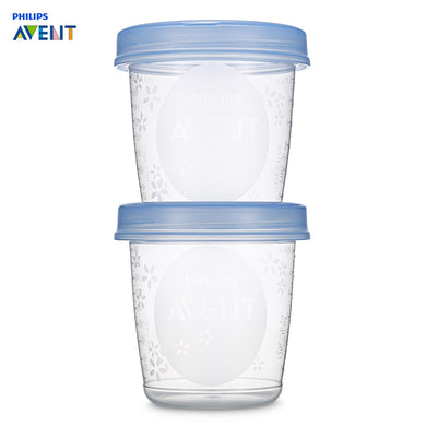 Philips Avent 5pcs Baby 6oz / 180ml Breast Milk Storage Cups