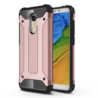 Luanke High Impact Premium Dual Layer Rugged Shock-proof Armor Defender Case Cover for Xiaomi Redmi 5 Plus