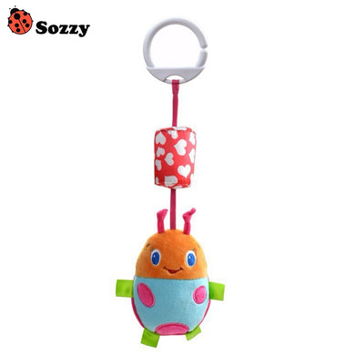 SOZZY Animal Hanging Bell Wind Chimes Crib Stroller Toy