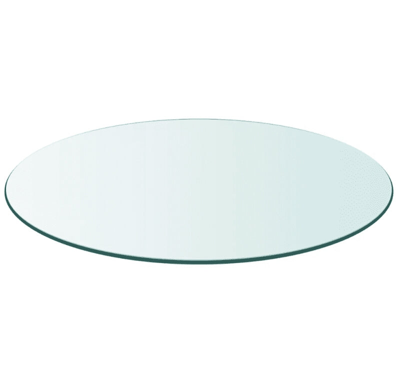 vidaXL Table Top Tempered Glass Round 700mm 243628