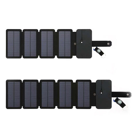 Outdoor Solar Charging Panel Removable Folding Mobile Phone Charger