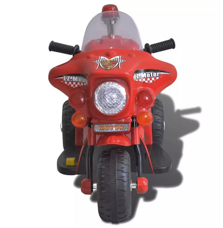 vidaXL Kid Electric Motorcycle Red 80087