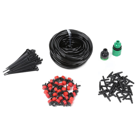 25M DIY Automatic Drip Irrigation Kit Garden Dripping Tools Set