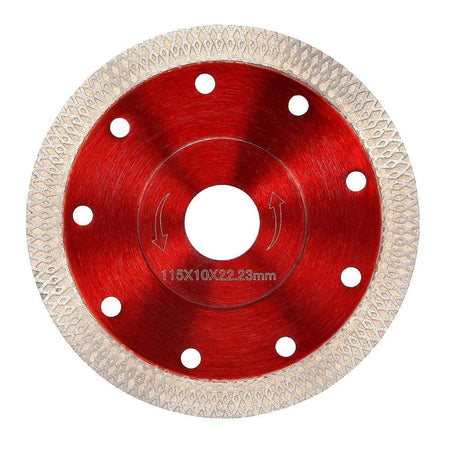 105 / 115 / 125mm Wave Style Diamond Saw Blade for Porcelain Tile Ceramic Cutting