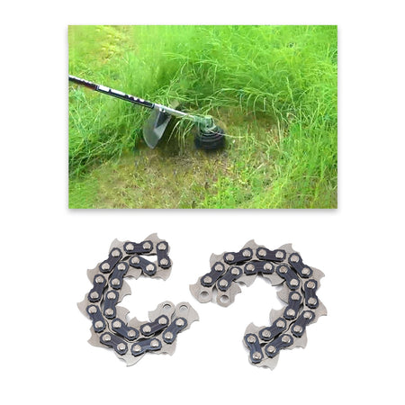 2PCS Coil Chain for Garden Grass Trimmer Head Lawn Mower Accessories