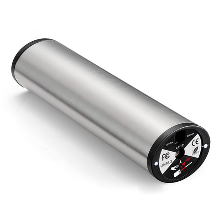 AP - 101 Mini Electric Inflator with Tyre Pressure Gauge LED Light