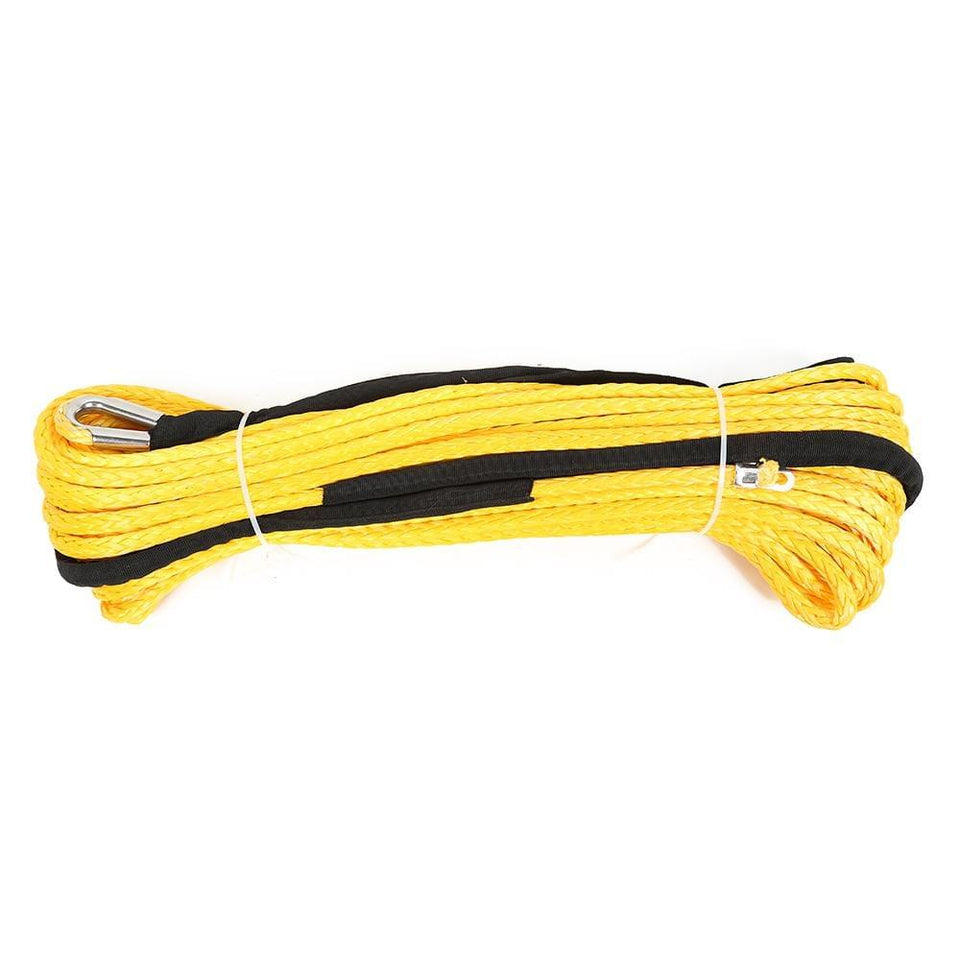 10mm x 30m Synthetic Winch Rope Line Recovery Cable