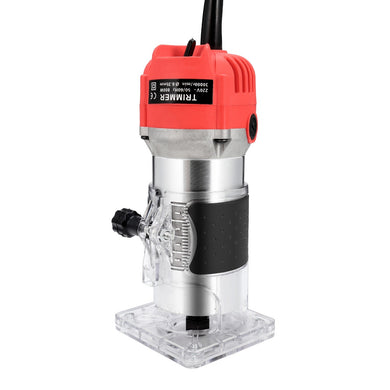 800W Woodworking Electric Trimming Machine Engraving Electromechanical Wood Milling Slotting Machine