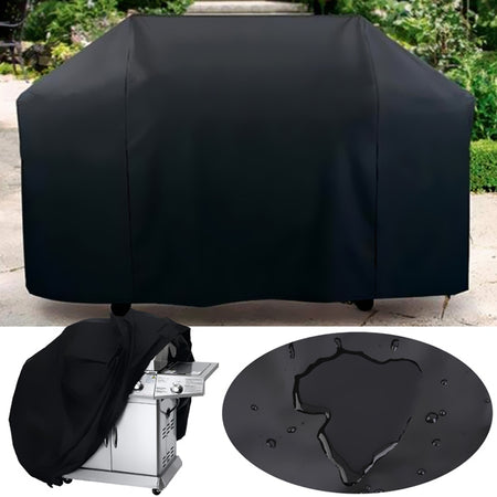 Waterproof Barbecue Grill Dust Protector Polyester Rain Cover