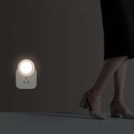 YEELIGHT YLYD10YL Low Power Consumption / Intelligent Recognition / Energy Saving Round Plug Night Light