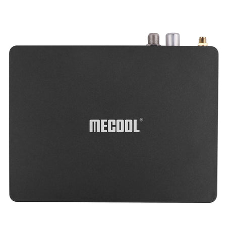 MECOOL K7 DVB - S2 - T2 / TC TV Box Amlogic S905X2 / Android 9.0 / 4GB LPDDR4 + 64GB EMMC / 2.4GHz + 5GHz WiFi / 1000Mbps / USB3.0 / Bluetooth 4.1 / HDR10 H.265 H.264 / Supports 4K