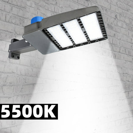 300W triangle shoe box light