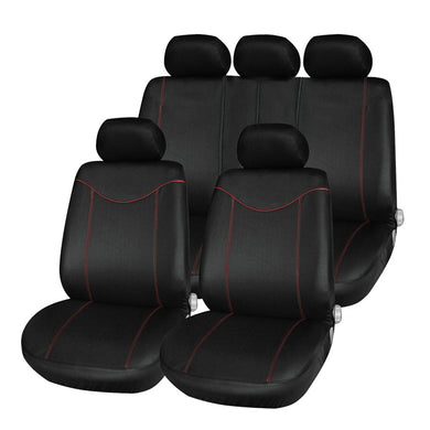 T21638 11pcs Car Low-back Seat Cover Set Anti-Dust Auto Cushion Protector