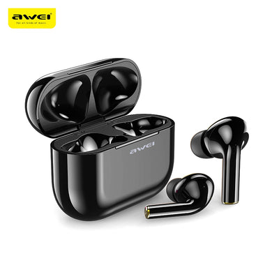 Awei T29 TWS Bluetooth 5.0 Earphones Sensitive Touch Control Auto Pairing for Siri Voice Assistant