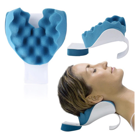 Therapeutic Tension Reliever Massager Pillow