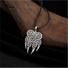 Viking Wolf Claws Pendant