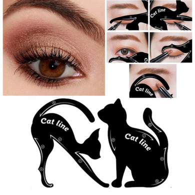 4pcs Cat Eye Line/Scale for Perfect Smokey Eyes