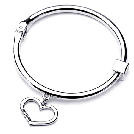 Mother Daughter Round Bangle Set (Ships From USA)