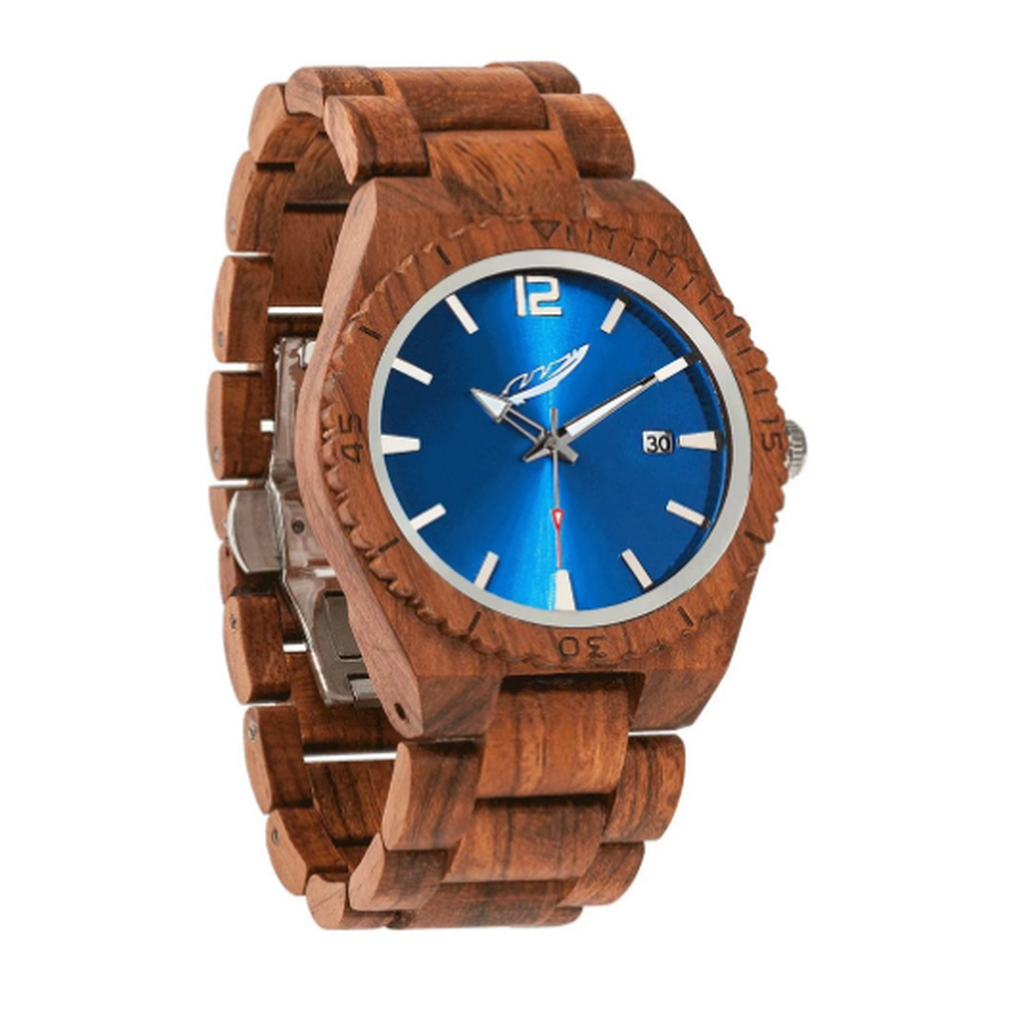 Men's Personalized Engrave Kosso Wood Watches - Free Custom Engraving